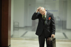 Businessman fired Stock Photography