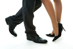 Businessman flirting. Royalty Free Stock Photos
