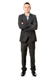 Businessman with folded arms Royalty Free Stock Photography