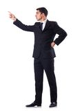 Businessman in formal attire isolated on the white Stock Photo