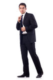 Businessman in formal attire isolated on white Stock Photo