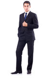 Businessman in formal attire Royalty Free Stock Photos