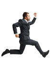 Businessman in formal wear Royalty Free Stock Photo