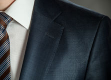 Businessman in formal wear. Businessman wearing formal suit and tie Royalty Free Stock Images