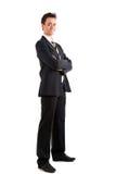 Businessman full length Stock Photo