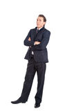 Businessman full length Royalty Free Stock Images
