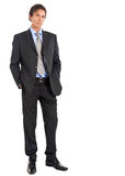 Businessman full length Royalty Free Stock Photos