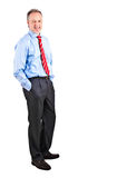 Businessman full length Stock Photo