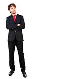Businessman full length Royalty Free Stock Photo