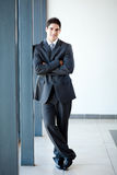 Businessman full length Royalty Free Stock Image