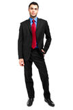 Businessman full length Stock Photography