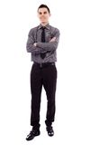 Businessman in full length Stock Images