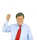 Businessman gesturing with hand, Royalty Free Stock Photography