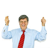 Businessman gesturing with hand, Stock Photo