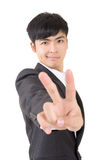 Peace gesture Stock Images