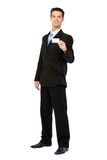 Businessman giving businesscard Royalty Free Stock Image