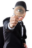 Businessman glass. Stock Images