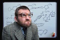 Businessman in glasses Stock Image