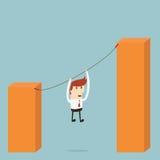 Businessman goal Stock Photo