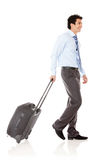 Businessman going on a trip Stock Photo