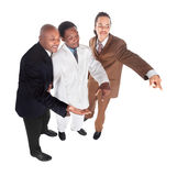 Businessman group Stock Photography