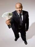 businessman group holding twenties στοκ φωτογραφίες