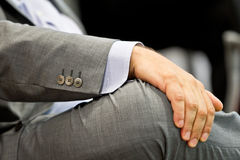 Businessman hand Stock Photography