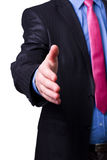 A businessman hand Royalty Free Stock Photography