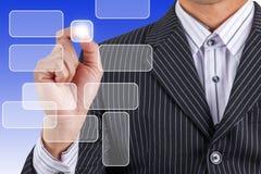 Businessman hand isolated Stock Photos