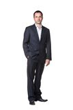 Businessman with hand in pocket Royalty Free Stock Photography