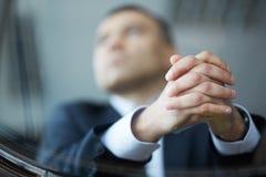 Businessman hands Stock Image