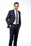 Businessman with hands in his pockets Royalty Free Stock Photo