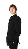 Businessman with hands in pockets Stock Images