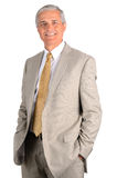 Businessman with Hands in Pockets Stock Photography