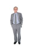 BusinessMan hands in pockets Stock Images