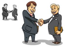 Businessman handshake Royalty Free Stock Photography