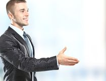 Businessman handshake Royalty Free Stock Images