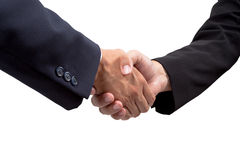 Businessman handshake Stock Images