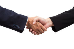 Businessman handshake Stock Photography