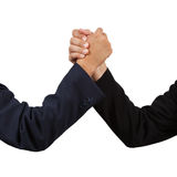 Businessman handshake Royalty Free Stock Image