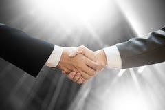 Businessman handshake Professional Business partnership meeting Stock Photo