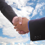 Businessman handshake Royalty Free Stock Photography