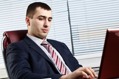 Businessman of handsome presence Royalty Free Stock Images