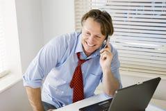 businessman happy Στοκ Φωτογραφίες
