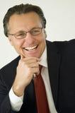businessman happy Στοκ Εικόνες