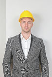 Businessman Hard Hat Royalty Free Stock Photo