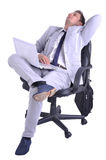 Businessman have a break Stock Photography