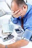 Businessman having stress Stock Photo