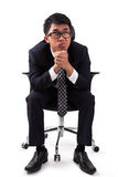 Businessman having stress Stock Images
