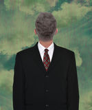 Businessman Head Backwards, Business, Sales Stock Photography